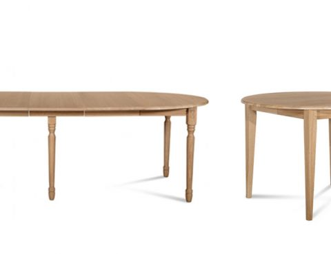 tables rondes extensibles